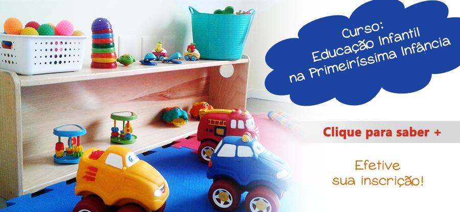Curso Educação Infantil na Primeiríssima Infância